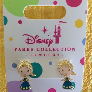 Girls  Disney Princess Elsa  Pierced Earrings